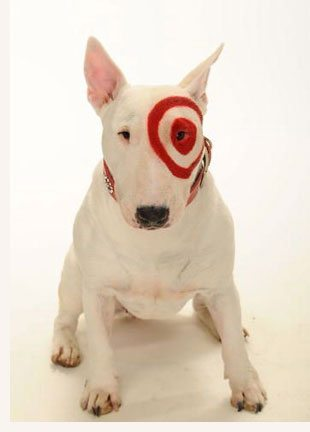 Bullseye target 39 s dog mascot at new york stock exchange What kind of dog is the target mascot