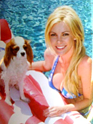 Hugh Hefner's Ex Keeps Ring, Gives Dog Back