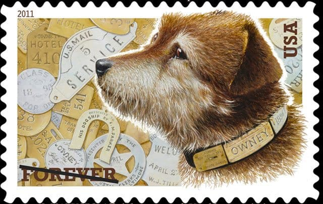 Globetrotting Post Office Dog Gets His Own Stamp