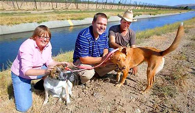 Former Cowboy Lassos Dogs Swept Away In Washington Canal