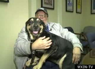 Sheba The Rescue Dog Saves Owner From Heart Attack
