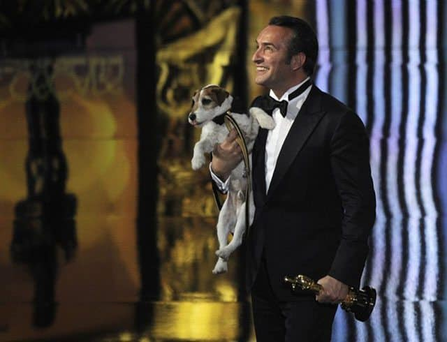 "Uggie Wins Best Picture Oscar for ""The Artist"""