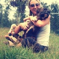 Ashley Owen Hill of Lucky Dog Rescue.