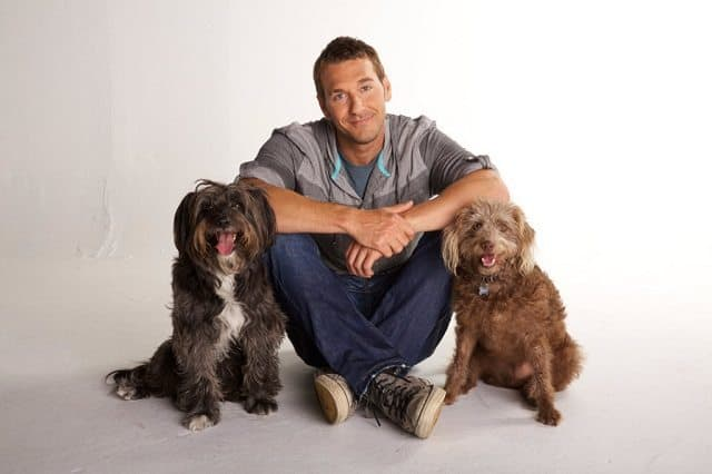 Brandon McMillan will rescue and train 22 dogs in 22 weeks.