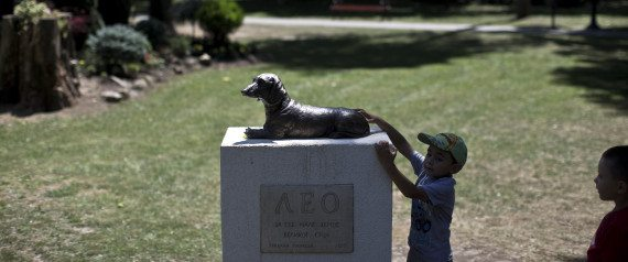 Heroic Dog Who Died Saving A Girl's Life Honored With Serbian Memorial